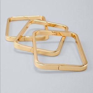 WHBM rectangle bracelet set